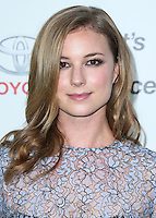 BURBANK, CA, USA - OCTOBER 18: Emily VanCamp arrives at the 2014 Environmental Media Awards held at Warner Bros. Studios on October 18, 2014 in Burbank, California, United States. (Photo by Xavier Collin/Celebrity Monitor)