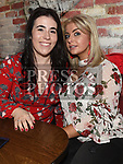 Leanne Malone and Anita Kelly enjoying the New year weekend in The Weavers. Photo:Colin Bell/pressphotos.ie