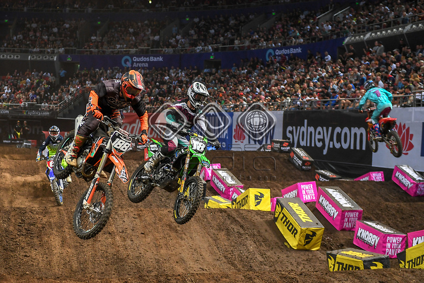SX 2 / Tomas Ravenhorst<br /> 2018 SX Open - Sydney <br /> Australian Supercross Championships<br /> Qudos Bank Area / Sydney Aus<br /> Saturday Nov 10th 2018<br /> © Sport the library/ Jeff Crow / AME