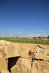 Israel, lower Galilee, the ancient water reservoir in Zippori