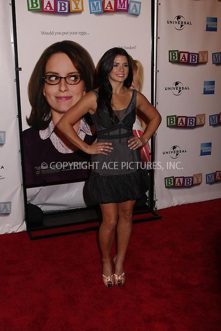 WWW.ACEPIXS.COM . . . . .  ....April 23, 2008. New York City.....Danica Patrick attends the 7th Annual Tribeca Film Festival 'Baby Mama' Premiere at the Ziegfeld Theatre. ......Please byline: AJ Sokalner - ACEPIXS.COM.... *** ***..Ace Pictures, Inc:  ..Philip Vaughan (646) 769 0430..e-mail: info@acepixs.com..web: http://www.acepixs.com