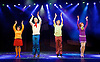 Scooby-Doo! Live Musical Mysteries <br /> at The Palladium, London, Great Britain <br /> press photocall <br /> 17th August 2016 <br /> <br /> <br /> Charlie Bull as Daphne <br /> Chris Warner Drake as Fred <br /> Charlie Haskins as Shaggy <br /> Rebecca Withers as Velma<br /> <br /> <br /> Photograph by Elliott Franks <br /> Image licensed to Elliott Franks Photography Services