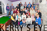 Martin Brosnan, the Kerries celebrates his 60th Birthday with family and friends at the  Greyhound Bar on Friday