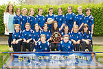 Winners: The  Team from the Convent Primary School who won the Cumann na mBunscoil  Kerry Final. Front: Aisling Kelliher & Sarah Moriarity. Second row: Shannon McGrath, Evelyn O'Flynn, Aisling Chute, Liah Henry, Liz Stack (capt), Brid Mason, Niamh Costello & Saoirse Kennedy. Back: Teacher Miss Carmody-O'Brien, Ciara Lynch, Doireann Tarrant, Fiona Murphy, Cliona Griffin, Mamie O'Flynn, Sarah Broderick, Joanne Lynch & Eva Munnelly& Grainne O.Donovan.. This is the first time that a team from the school has won a trophy in football.