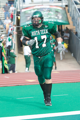 DENTON, TX -NOVEMBER 15: North Texas Mean Green Football vs Arkansas State at Fouts Field in Denton on November 15, 2003 in Denton Texas. (Photo by Rick Yeatts)