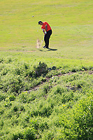 John Rahm (ESP) on the 9th during the 2nd round at the WGC Dell Technologies Matchplay championship, Austin Country Club, Austin, Texas, USA. 23/03/2017.<br /> Picture: Golffile | Fran Caffrey<br /> <br /> <br /> All photo usage must carry mandatory copyright credit (&copy; Golffile | Fran Caffrey)