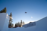 Event winner Nick Poohachoff at the Nike Chosen snowboard competition at Heavenly Valley in South Lake Tahoe. Photo by Scott Sady - Novus Select