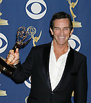 LOS ANGELES, CA. - September 20: Jeff Probst  poses in the press room at the 61st Primetime Emmy Awards held at the Nokia Theatre on September 20, 2009 in Los Angeles, California.