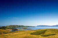 Kerrera from Ganavan Hill, near Oban, Argyll & Bute