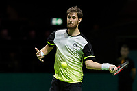 Rotterdam, Netherlands, 12 Februari, 2018, Ahoy, Tennis, ABNAMROWTT, Martin Klizan (SVK)<br /> Photo:tennisimages.com