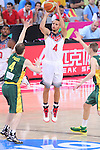 11.09.2014 Barcelona. FIBA Basketball World Cup. Semi-Finals. Picture show S. Curry in action during game Usa v Lithuania at Palau St. Jordi