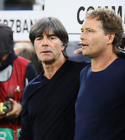 Bundestrainer Joachim Loew (Deutschland Germany) und Co-Trainer Marcus Sorg (Deutschland Germany) - 06.09.2019: Deutschland vs. Niederlande, Volksparkstadion Hamburg, EM-Qualifikation DISCLAIMER: DFB regulations prohibit any use of photographs as image sequences and/or quasi-video.