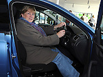 Marie Matthews pictured in the new Skoda Rapid at Western Motors. Photo:Colin Bell/pressphotos.ie