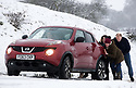 21/01/18<br /> <br /> A car is given a push up hill after getting stuck in the snow near Dovedale in the Derbyshire Peak District..<br /> <br /> All Rights Reserved: F Stop Press Ltd. +44(0)1773 550665  www.fstoppress.com.