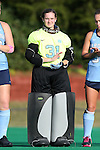 09 October 2015: North Carolina's Shannon Johnson. The University of North Carolina Tar Heels hosted the Longwood University Lancers at Francis E. Henry Stadium in Chapel Hill, North Carolina in a 2015 NCAA Division I Field Hockey match. UNC won the game 8-1.
