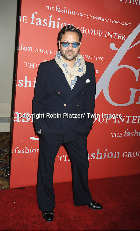 Alvin Valley attends the Fashion Group International's 29th Annual  Night of Stars Gala on October 25, 2012 at Cipriani Wall Street in New York City.