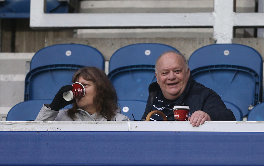 Preston fans<br /> <br /> Photographer Rob Newell/CameraSport<br /> <br /> The EFL Sky Bet Championship - Queens Park Rangers v Preston North End - Saturday 19 January 2019 - Loftus Road - London<br /> <br /> World Copyright © 2019 CameraSport. All rights reserved. 43 Linden Ave. Countesthorpe. Leicester. England. LE8 5PG - Tel: +44 (0) 116 277 4147 - admin@camerasport.com - www.camerasport.com