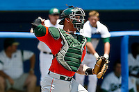 May 31, 2009:  NCAA Division 1 Gainesville Regional:     Miami catcher Yasmani Grandal  (24) during 2nd round regional action at Alfred A. McKethan Stadium on the campus of University of Florida in Gainesville.  Miami Hurricanes eliminated Jacksonville 4-0 and will advance to the finals against Florida............