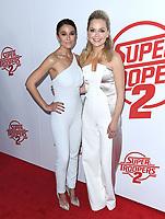 11 April 2018 - Hollywood, California - Emmanuelle Chriqui, Marisa Coughlan. &quot;Super Troopers 2&quot; Los Angeles Premiere held at Arclight Hollywood. <br /> CAP/ADM/BT<br /> &copy;BT/ADM/Capital Pictures