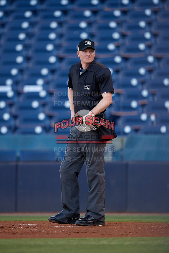 Umpire Louie Krupa during a Florida State League game between the St. Lucie Mets and Tampa Tarpons on April 10, 2019 at George M. Steinbrenner Field in Tampa, Florida.  St. Lucie defeated Tampa 4-3.  (Mike Janes/Four Seam Images)