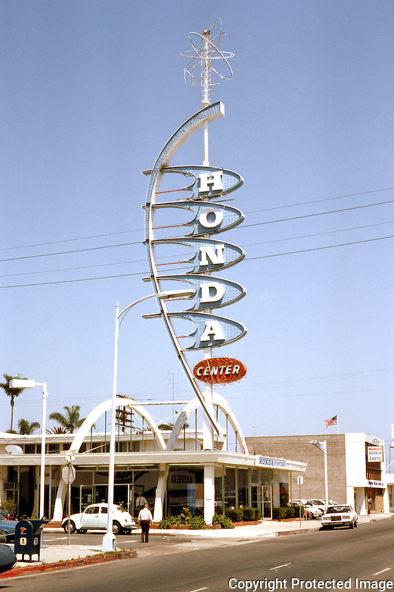 San Diego: Car dealership, formerly Buick, at El Cajon Blvd & 34th St. Melvin Zeitvogel, 1959.