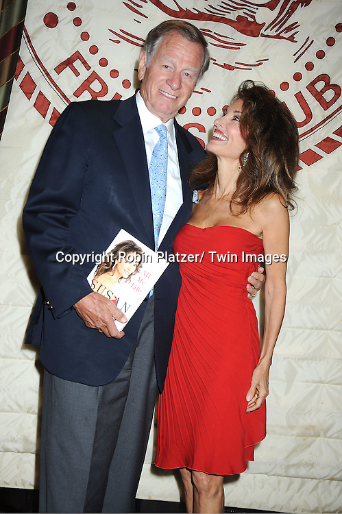 "Susan Lucci and  husband Helmet Huber at her book signing for her new book ""All My Life""  at The Friars Club in New York City on September 7, 2011."