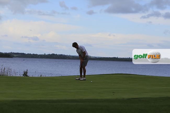 Cathal Nolan (Galway) on the 16th green during Round 4 of the 2016 Connacht Strokeplay Championship at Athlone Golf Club on Sunday 12th June 2016.<br /> Picture:  Golffile   Thos Caffrey