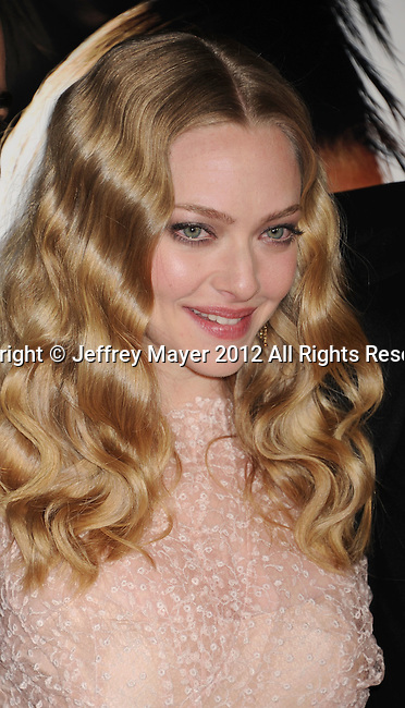 HOLLYWOOD, CA - FEBRUARY 21: Amanda Seyfried attends the 'Gone' Los Angeles Premiere at ArcLight Cinemas on February 21, 2012 in Hollywood, California.