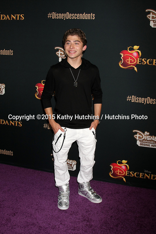 "LOS ANGELES - JUL 24:  Ryan Ochoa at the ""Descendants"" Premiere Screening at the Walt Disney Studios on July 24, 2015 in Burbank, CA"