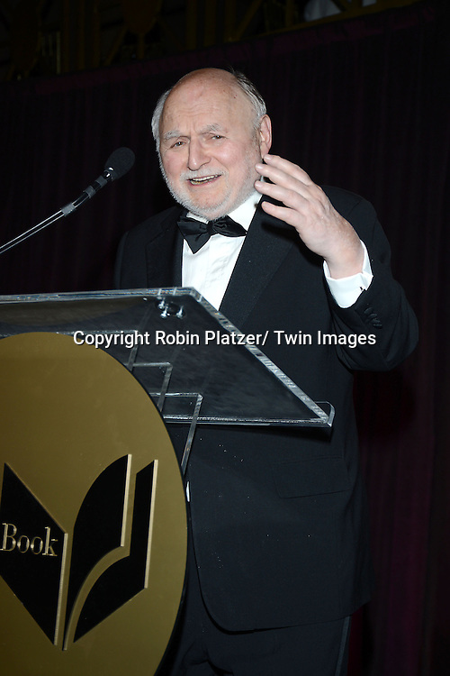 Victor Navasky attends the 2013 National Book Awards Dinner and Ceremony on November 20, 2013 at Cipriani Wall Street in New York City.