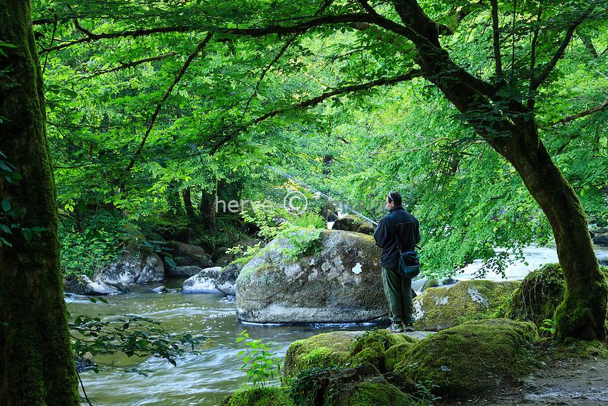 France, Haute-Vienne (87), Saint-Junien, vallée de la Glane, site Corot classé site naturel // France, Haute Vienne, Saint-Junien, Corot site
