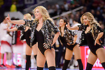Real Madrid's cheerleaders during Turkish Airlines Euroleage match between Real Madrid and EA7 Emporio Armani Milan at Wizink Center in Madrid, Spain. January 27, 2017. (ALTERPHOTOS/BorjaB.Hojas)