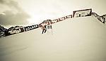 24.10.2010, Rettenbachferner, Soelden, AUT, FIS World Cup Ski Alpin, Men, 2nd run, im Bild absage des zweiten Durchgangs am Rettenbachferner aufgrund starken Nebels, Farben gefiltert, Colorcomposed, EXPA Pictures © 2010, PhotoCredit: EXPA/ J. Groder