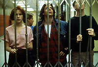 The Breakfast Club (1985) <br /> Judd Nelson, Anthony Michael Hall, Emilio Estevez, Molly Ringwald &amp; Ally Sheedy<br /> *Filmstill - Editorial Use Only*<br /> CAP/KFS<br /> Image supplied by Capital Pictures