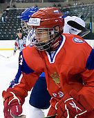 Nikita Zaycev (Russia - 22) - Russia defeated Finland 4-0 at the Urban Plains Center in Fargo, North Dakota, on Friday, April 17, 2009, in their semi-final match during the 2009 World Under 18 Championship.