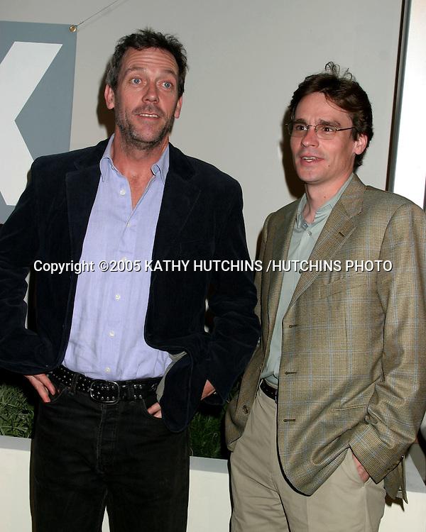©2005 KATHY HUTCHINS /HUTCHINS PHOTO.TELEVISION CRITICS ASSOCIATION PRESS TOUR PARTY.FOX-TV.LOS ANGELES, CA.JANUARY 17, 2005..HUGH LAURIE.ROBERT SEAN LEONARD
