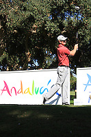 Justin Rose (ENG) during the final day of the  Andalucía Masters at Club de Golf Valderrama, Sotogrande, Spain. .Picture Fran Caffrey www.golffile.ie
