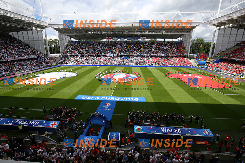 Atmosfera Panoramica <br /> Lens 16-06-2016 Stade Bollaert-Delelis Footballl Euro2016 England - Wales / Inghilterra - Galles Group Stage Group B. Foto Gwendoline Le Goff / Panoramic / Insidefoto