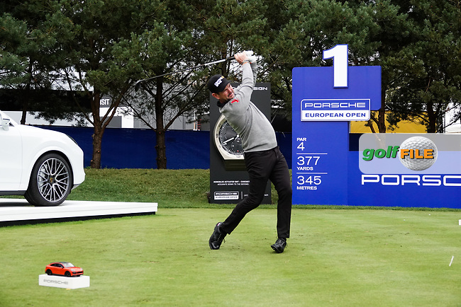 Rory Sabattini (SVK) in action during the first round of the Porsche European Open , Green Eagle Golf Club, Hamburg, Germany. 05/09/2019<br /> Picture: Golffile | Phil Inglis<br /> <br /> <br /> All photo usage must carry mandatory copyright credit (© Golffile | Phil Inglis)