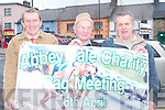 Gone to the dogs: Patsy Sweeney, Martin O'Keeffe and Pat Lyons, all .Abbeyfeale who are preparing for the Charity Rag Meeting on April 6th..   Copyright Kerry's Eye 2008