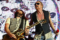 Guns N' Roses performs during the Rock in Rio Lisboa music festival at Bela Vista Park  in Lisbon 27 May 2006.