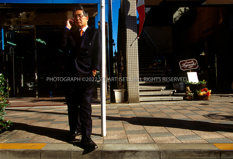 11/28/00--Tokyo, Japan..Former Peruvian president Alberto Fujimori living in exile in Japan and fighting extradition....All photographs ©2003 Stuart Isett.All rights reserved.This image may not be reproduced without expressed written permission from Stuart Isett.