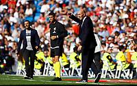 during La Liga match. Oct 05, 2019. (ALTERPHOTOS/Manu R.B.)<br /> Liga Spagna 2019/2020 <br /> Real Madrid - Grenada <br /> Foto Alterphotos / Insidefoto <br /> ITALY ONLY