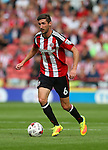 Chris Basham of Sheffield Utd during the League One match at Bramall Lane Stadium, Sheffield. Picture date: September 17th, 2016. Pic Simon Bellis/Sportimage