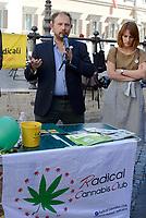 Roma, 18 Luglio 2017<br /> LUCA MAROLA<br /> fondatore e gestore del Canapaio Ducale di Parma.<br /> I radicali italiani organizzano un corso di autocoltivazione della Cannabis contro la penalizzazione dell'autocoltivazione