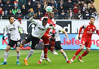Danny da Costa (Eintracht Frankfurt) klaert gegen Anthony Ujah (1. FSV Mainz 05) - 17.03.2018: Eintracht Frankfurt vs. 1. FSV Mainz 05, Commerzbank Arena
