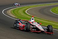 Ryan Briscoe (#2) and Marco Andretti (#26)