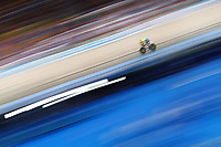 Matt Glaetzer of Australia wins gold in the Men's 1000m Time Trial. Gold Coast 2018 Commonwealth Games, Track Cycling, Anna Meares Velodrome, Brisbane, Australia. 8 April 2018 © Copyright Photo: Anthony Au-Yeung / www.photosport.nz /SWpix.com
