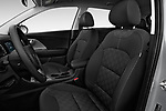 Front seat view of 2017 KIA Niro FE 5 Door Hatchback Front Seat  car photos