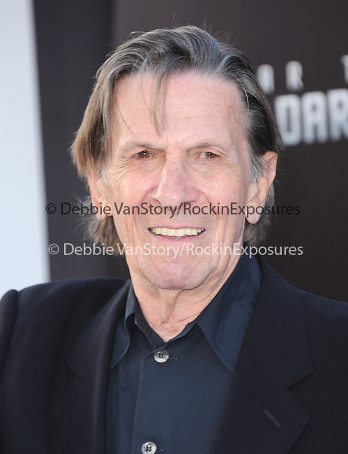 "Leonard Nimoy  at Paramount Pictures' Premiere of  ""Star Trek Into Darkness"" held at The Dolby Theater in Hollywood, California on May 14,2013                                                                   Copyright 2013 Hollywood Press Agency"